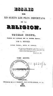Essais sur les sujets les plus importans de la religion: Volume2