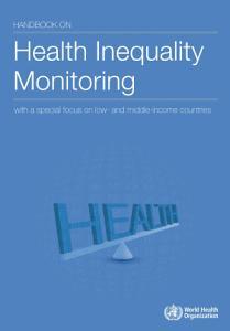 Handbook on Health Inequality Monitoring PDF
