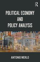 Political Economy and Policy Analysis PDF