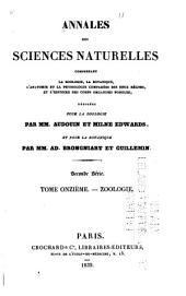 Annales des sciences naturelles: Zoologie et biologie animale