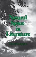 Natural Space in Literature PDF