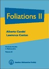 Foliations: Volume 2
