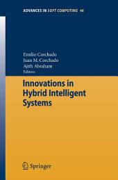 Innovations in Hybrid Intelligent Systems