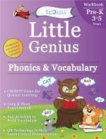 Phonics & Vocabulary: Pre Kindergarten Workbook (Little Genius Series)