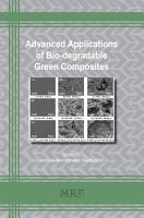 Advanced Applications of Bio degradable Green Composites PDF