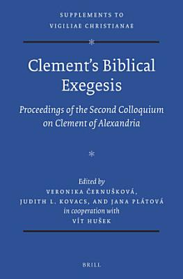 Clement   s Biblical Exegesis