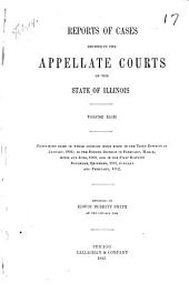 Reports of Cases Decided in the Appellate Courts of the State of Illinois: Volume 43