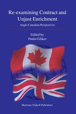 Re-examining Contract and Unjust Enrichment
