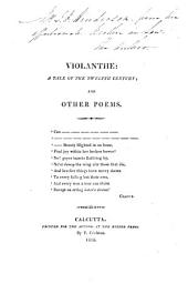 Violanthe: a tale of the twelfth century; and other poems [by H.B. Henderson].