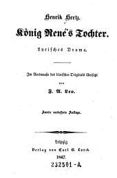 König Rene's Tochter: lyrisches Drama