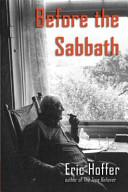 Before the Sabbath PDF