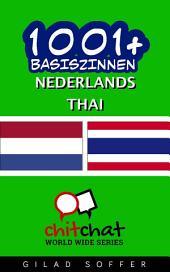 1001+ Basiszinnen Nederlands - Thai