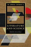 The Cambridge Companion to Literature and Science PDF