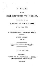 History of the Expedition to Russia: Volume 2