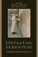 John Paul II and the Jewish People PDF