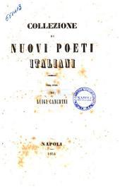 Collezione di nuovi poeti italiani per cura di Luigi Cancrini