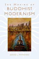 The Making of Buddhist Modernism PDF