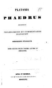 Platonis Phaedrus