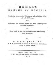 Hymnus an Demeter