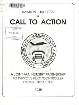 Aviation Industry  a Call to Action PDF