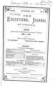 The Educational Journal of Virginia: Volume 9