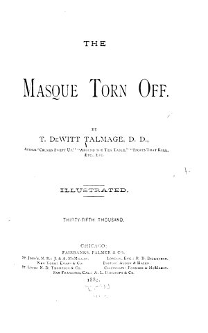 The Masque Torn Off