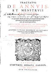 Tractatus de annuis et menstruis redditibus