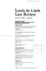 Lewis & Clark Law Review