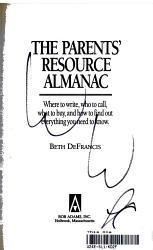 The Parents  Resource Almanac PDF