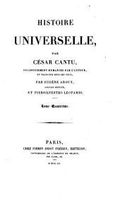 Histoire universelle: Volume15