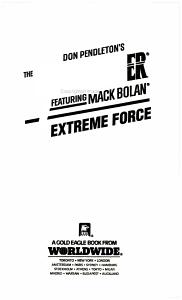 Extreme Force PDF