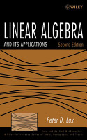 Linear Algebra and Its Applications PDF