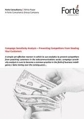 Campaign Sensitivity Analysis – Preventing Competitors From Stealing Your Customers
