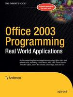 Office 2003 Programming PDF