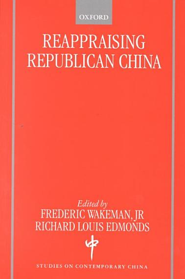 Reappraising Republican China PDF