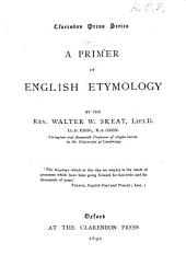 A Primer of English Etymology