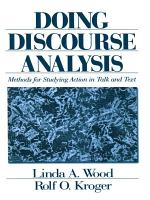 Doing Discourse Analysis PDF