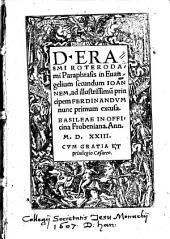 Paraphrasis in Evangelium secundum Ioannem