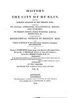 History of the City of Dublin