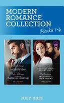Modern Romance July 2021 Books 1-4