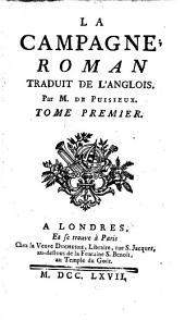 La Campagne: Roman, Volume1