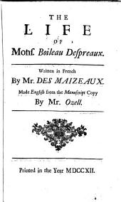 The Works of Monsieur Boileau