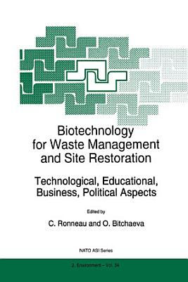 Biotechnology for Waste Management and Site Restoration PDF