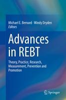 Advances in REBT PDF