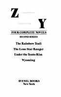 Four Complete Novels  Second Series PDF