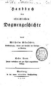 Handbuch der christlichen Dogmengeschichte