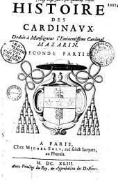 Histoire générale des cardinaux