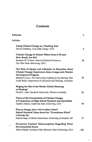 Canadian Journal of Environmental Education PDF