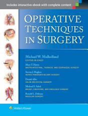 Operative Techniques in Surgery PDF