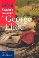 Oxford Reader s Companion to George Eliot PDF